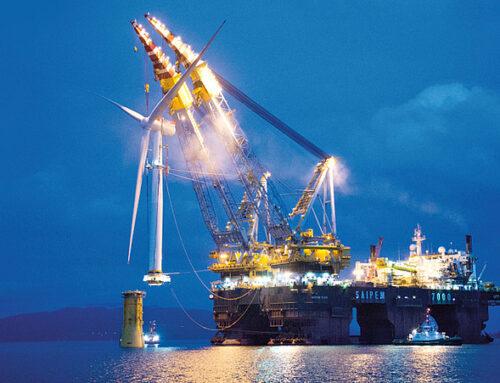 El mayor parque eólico flotante del mundo suministrará energía a plataformas petrolíferas noruegas