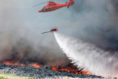 lucha contra incendios forestales